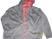 Куртка с капюшоном (толстовка) двусторонняя